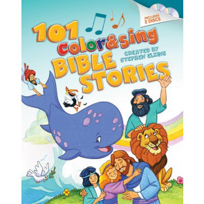 101 Color & Sing Bible Stories - Hardcover
