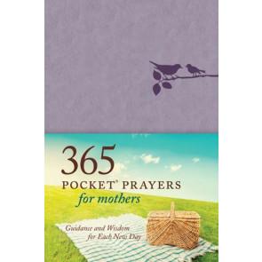 365 Pocket Prayers for Mothers - LeatherLike