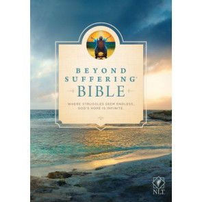 Beyond Suffering Bible NLT (Hardcover) - Hardcover