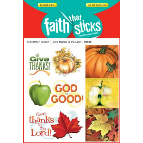 Give Thanks to the Lord - Stickers