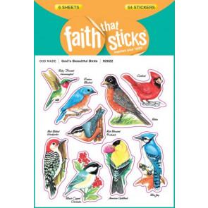 God's Beautiful Birds - Stickers