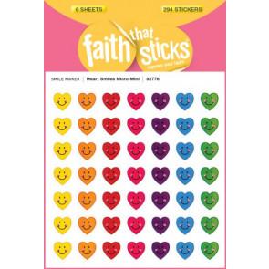 Heart Smiles Micro-Mini - Stickers