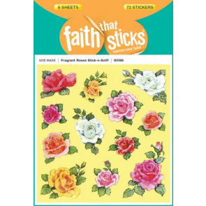 Fragrant Roses Stick-n-Sniff - Stickers