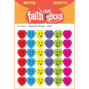 Happy Heart Miniature - Stickers