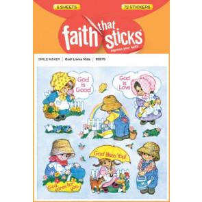 God Loves Kids - Stickers