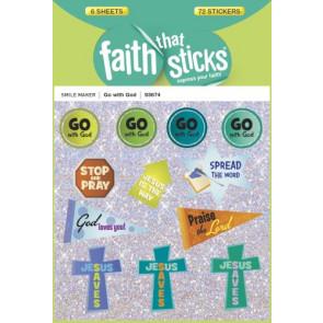 Go with God - Stickers