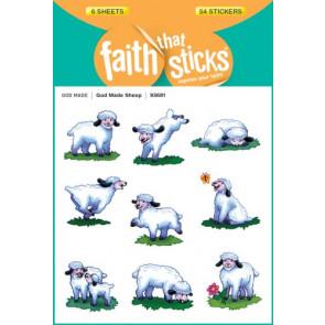 God Made Sheep - Stickers