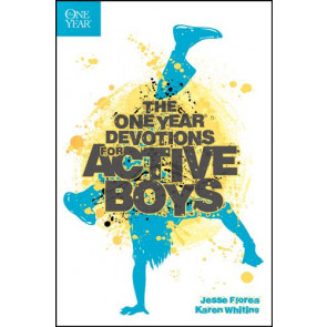 The One Year Devotions for Active Boys - Softcover