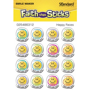Happy Faces - Stickers