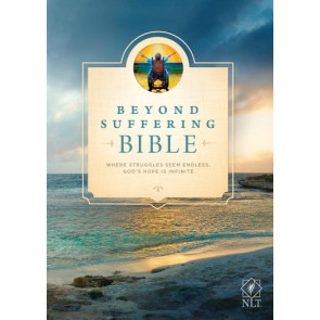 Beyond Suffering Bible NLT (Softcover) - Softcover
