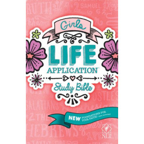 NLT Girls Life Application Study Bible (Hardcover) - Hardcover