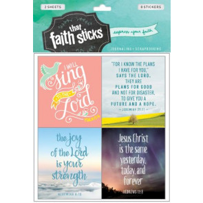 Jeremiah 29:11 - Stickers