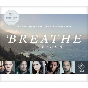 Breathe Bible New Testament NLT Audio CD (Audio CD) - CD-Audio