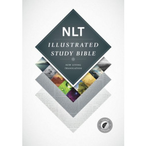 Illustrated Study Bible NLT (Hardcover, Indexed) - Hardcover With thumb index
