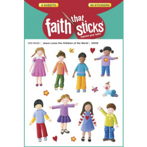 Jesus Loves the Children of the World - Stickers