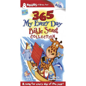 365 My Every Day Bible Song Collection - CD-Audio