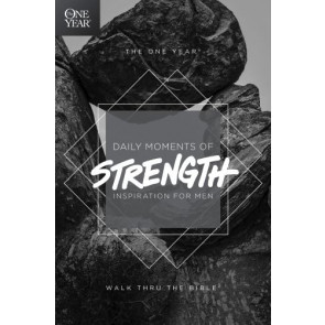 The One Year Daily Moments of Strength - Softcover