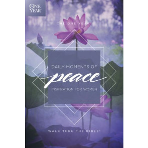 The One Year Daily Moments of Peace - Softcover