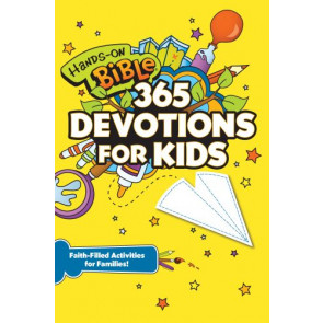 Hands-On Bible 365 Devotions for Kids - Softcover