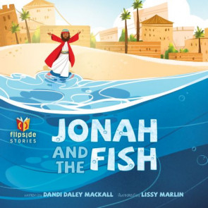 Jonah and the Fish - Hardcover Turn-around book