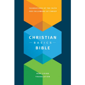 Christian Basics Bible NLT (Hardcover) - Hardcover With ribbon marker(s)