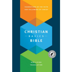 Christian Basics Bible NLT (Hardcover, Indexed) - Hardcover With thumb index and ribbon marker(s)