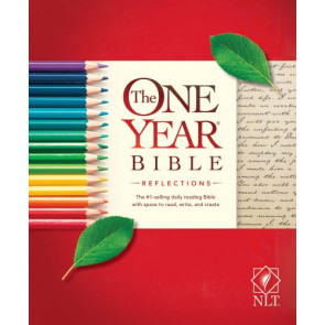 The One Year Bible Reflections NLT (Softcover) - Softcover