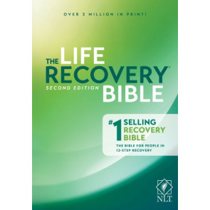 The Life Recovery Bible NLT  - Hardcover