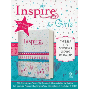 Inspire Bible for Girls NLT (Softcover) - Softcover / softback Wide margin