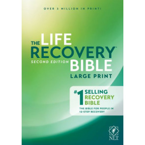 Life Recovery Bible NLT, Large Print - Softcover