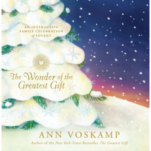 The Wonder of the Greatest Gift - Hardcover Advent calendar