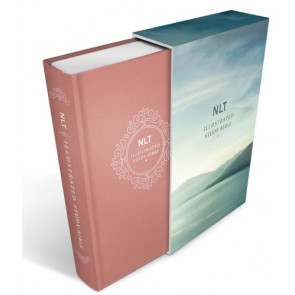 Illustrated Study Bible NLT Deluxe, Deluxe Linen Edition (Hardcover, Pink) - Hardcover Pink