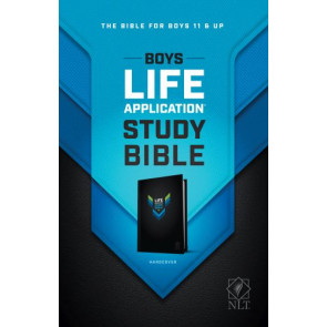 NLT Boys Life Application Study Bible (Hardcover) - Hardcover