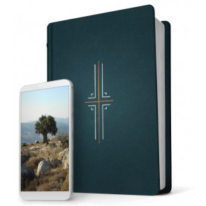 Filament Bible NLT (Hardcover Cloth, Midnight Blue) - Hardcover Midnight Blue Cloth With ribbon marker(s)