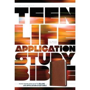 NLT Teen Life Application Study Bible (LeatherLike, Brown) - LeatherLike Brown With ribbon marker(s)