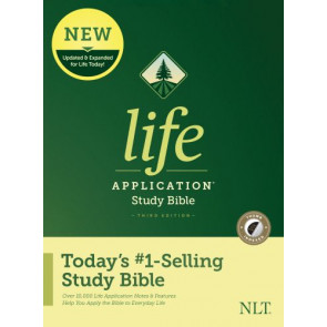 NLT Life Application Study Bible, Third Edition (Hardcover, Indexed) - Hardcover With printed dust jacket and thumb index