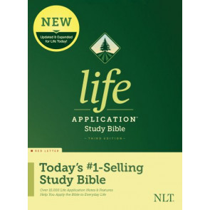 NLT Life Application Study Bible, Third Edition (Red Letter, Hardcover) - Hardcover With dust jacket
