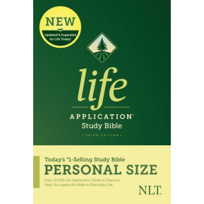 NLT Life Application Study Bible, Third Edition, Personal Size (Softcover) - Softcover