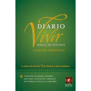 Biblia de estudio del diario vivir NTV, tamaño personal (Letra Roja, Tapa dura) - Hardcover
