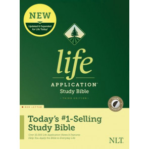 NLT Life Application Study Bible, Third Edition (Red Letter, Hardcover, Indexed) - Hardcover With thumb index