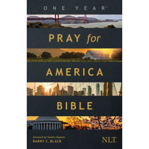 The One Year Pray for America Bible NLT (Softcover) - Softcover