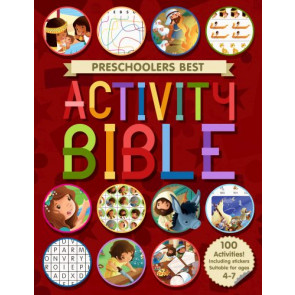 Preschoolers Best Story and Activity Bible - Softcover Sticker book