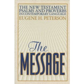 The Message New Testament with Psalms and Proverbs (Softcover) - Softcover / softback