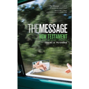 The Message New Testament (Mass Paper, Green) - Softcover Green