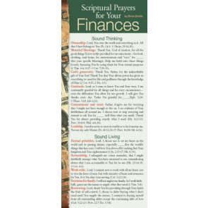 Scriptural Prayers for Your Finances 50-pack - Cards