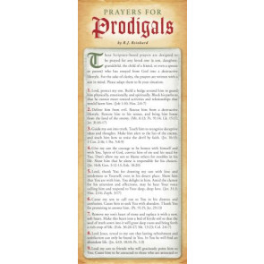 Prayers for Prodigals 50-pack - Cards