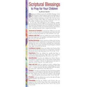 Scriptural Blessings to Pray for Your Children 50-pack - Cards