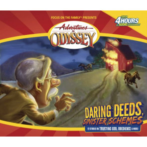 Daring Deeds, Sinister Schemes - CD-Audio