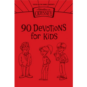 90 Devotions for Kids - LeatherLike