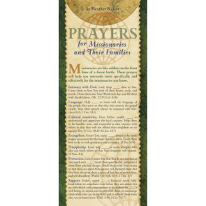 Prayers for Missionaries and Their Families 50-pack - Cards